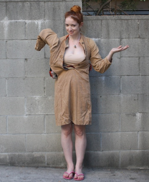 Vintage Corduroy Dress - New Dress A Day
