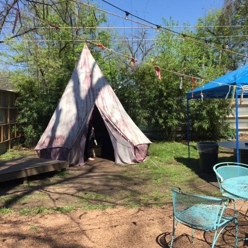 Backyard Teepee!
