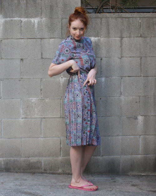 New Dress A Day - Paisley Dress