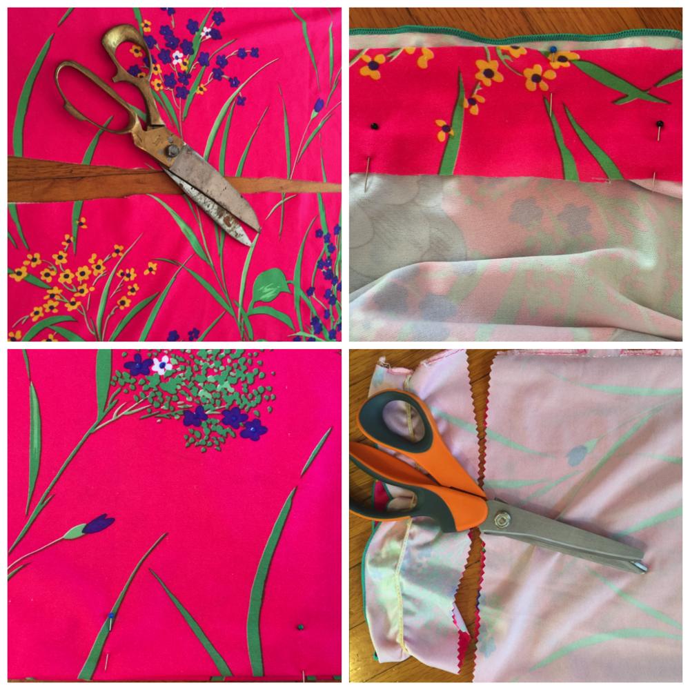 Vintage Pink Floral Muumuu 5
