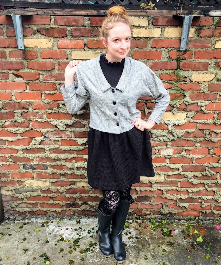 Vintage Tweed Dress - 12