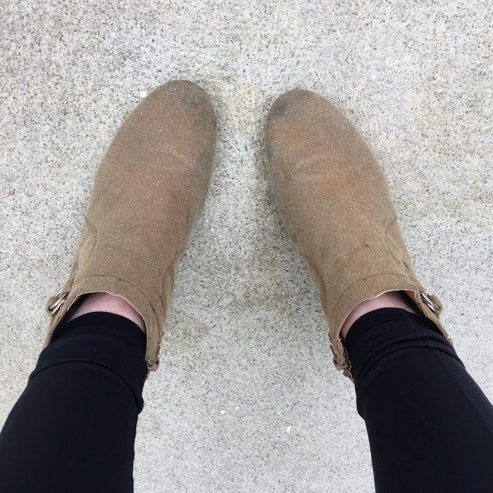 DIY Tan Boots - 2