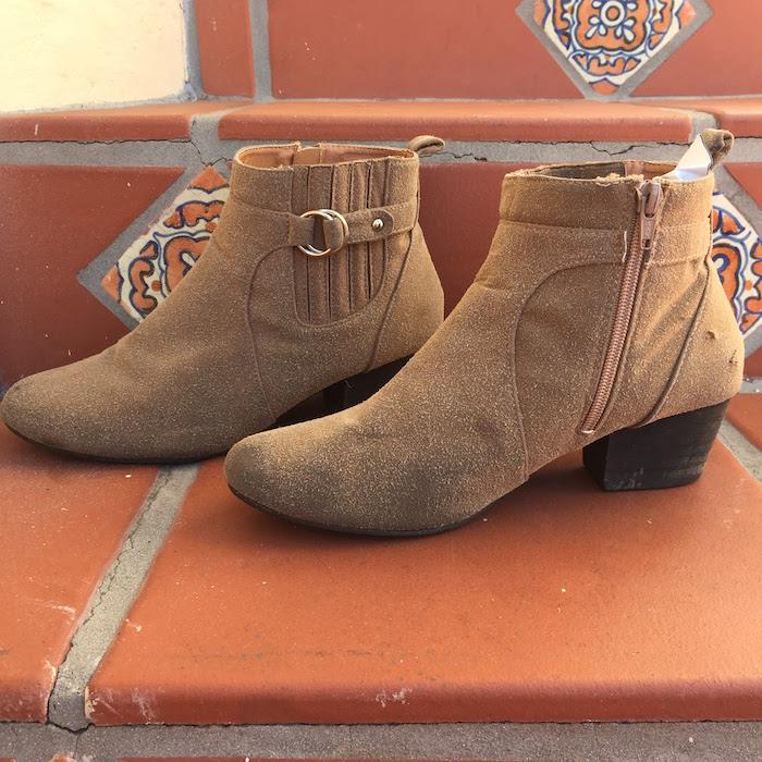 DIY Tan Boots - 3
