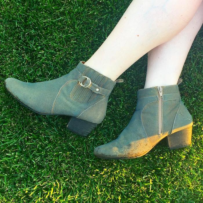 DIY Tan Boots - 6
