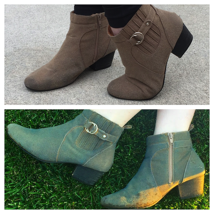 DIY Boots - Before / After