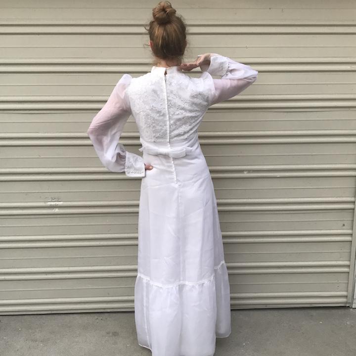 NDAD - Day 28 - Vintage Wedding Dress 3