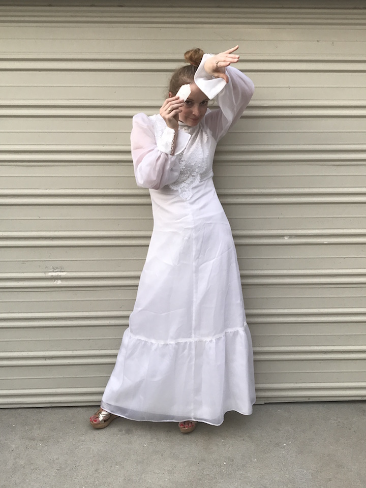 NDAD - Day 28 - Vintage Wedding Dress 4