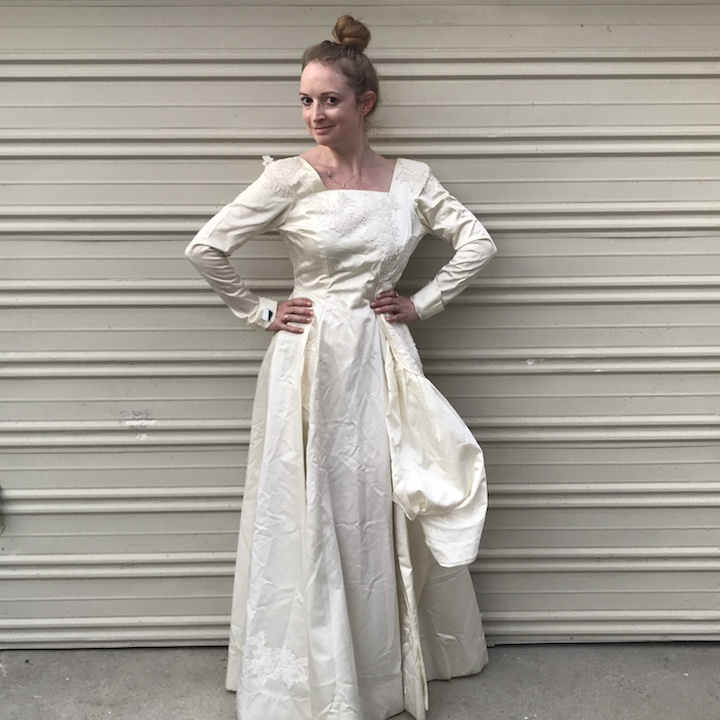 NDAD - Day 25 - Vintage Wedding Dress 5