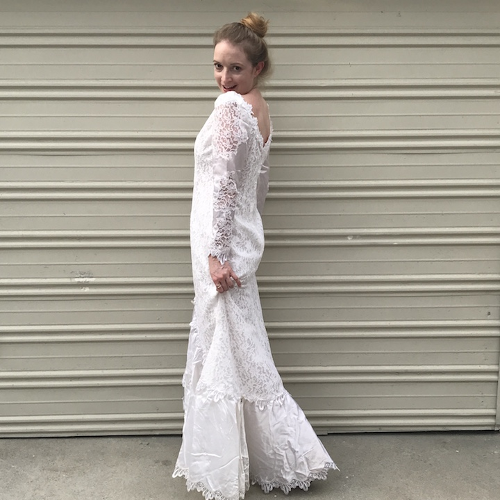 NDAD - Day 24 - Vintage Wedding Dress 3
