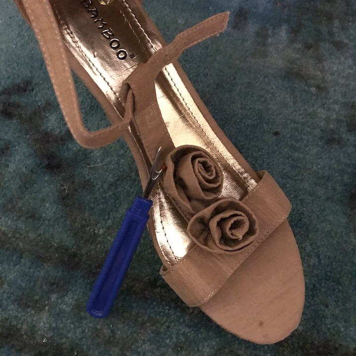 NDAD - Day 23 - DIY Wedding Shoes 6