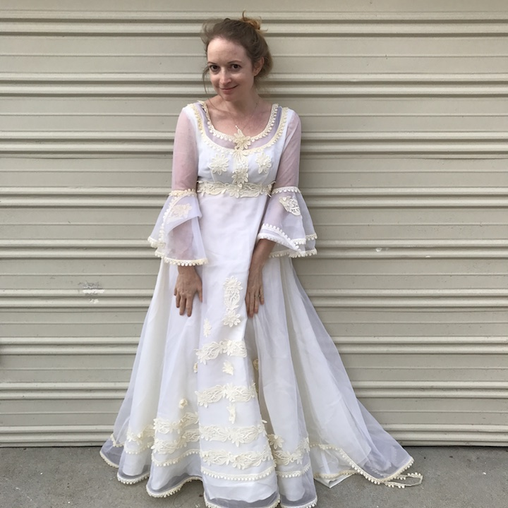 NDAD - Day 22 - Vintage Wedding Dress 2