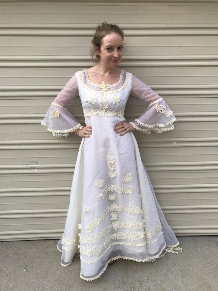 NDAD - Day 21 - Vintage Wedding Dress 2