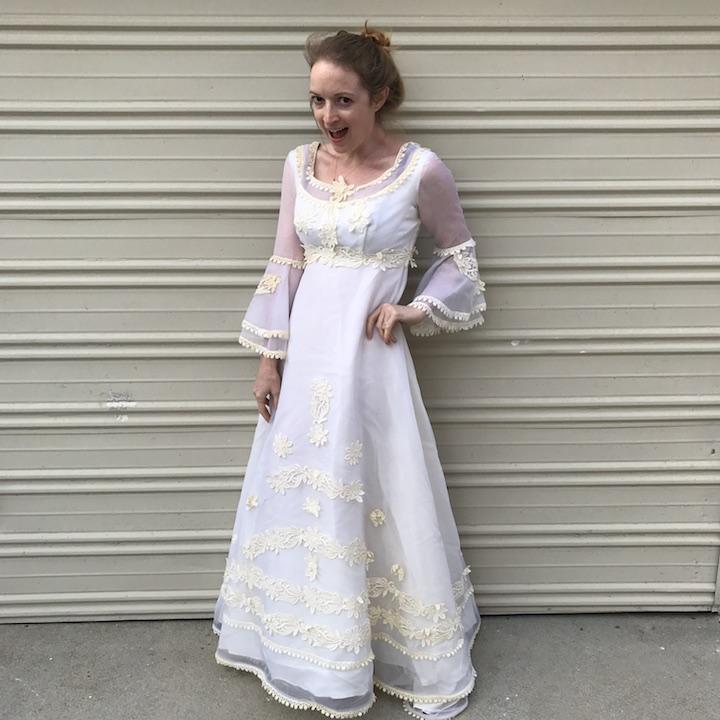 NDAD - Day 21 - Vintage Wedding Dress 5
