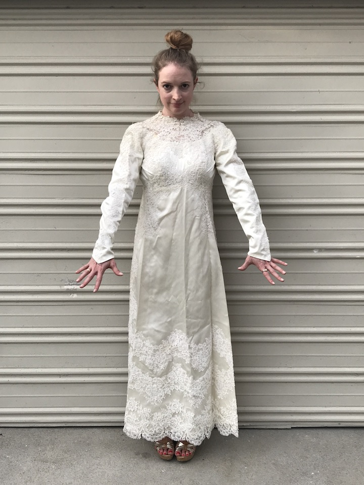 NDAD - Day 20 - Vintage Wedding Dress
