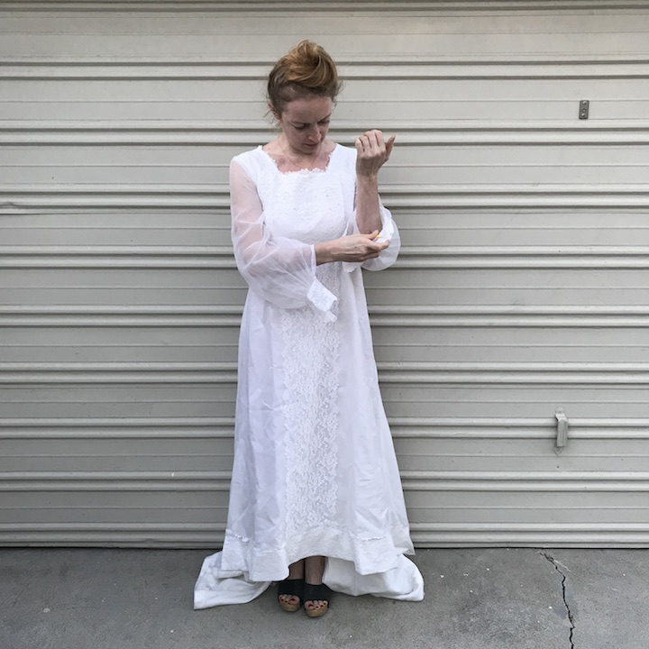 NDAD - Day 18 - Vintage Wedding Dress 2
