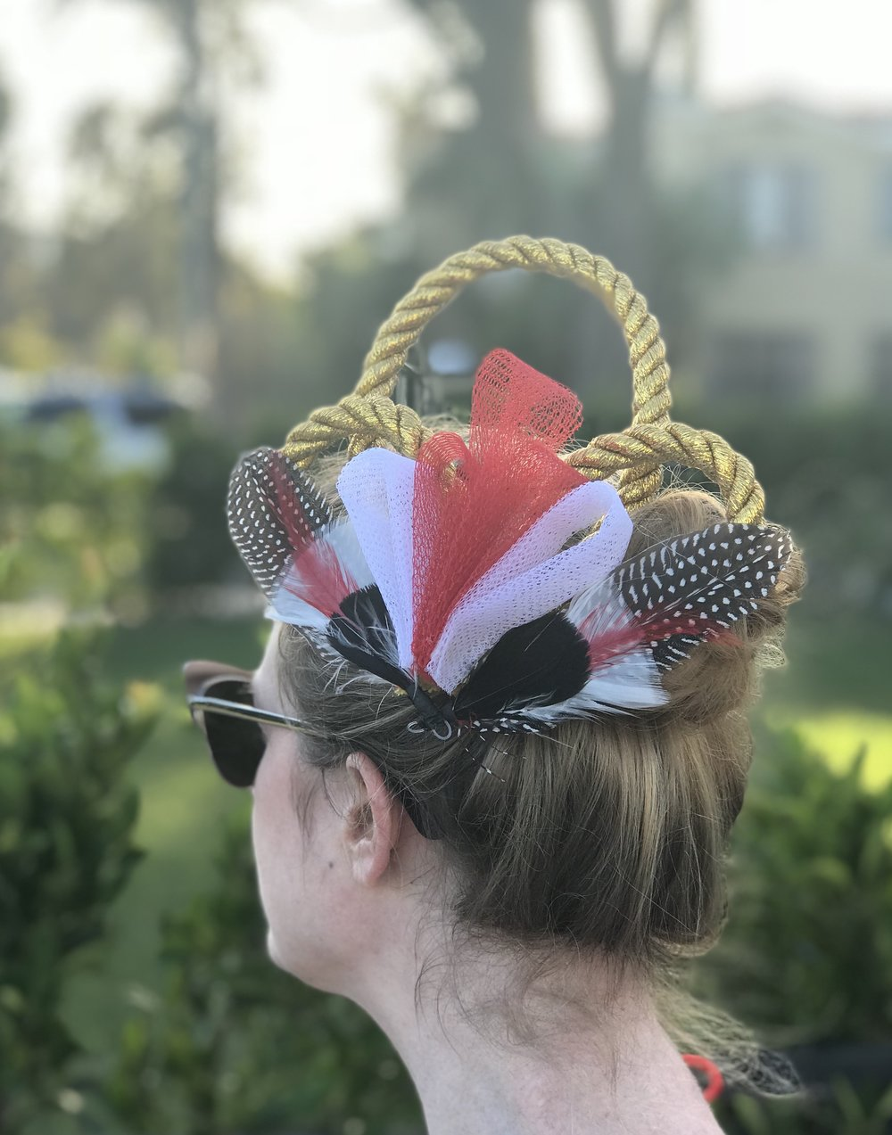 British DIY Fascinator
