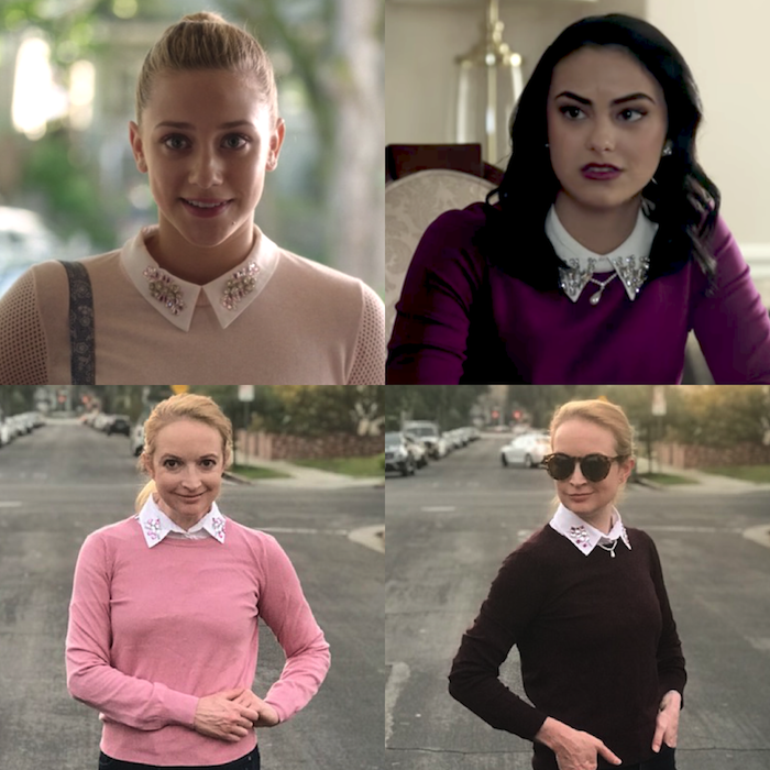 (Betty/Veronica - ℅ CW/Riverdale)