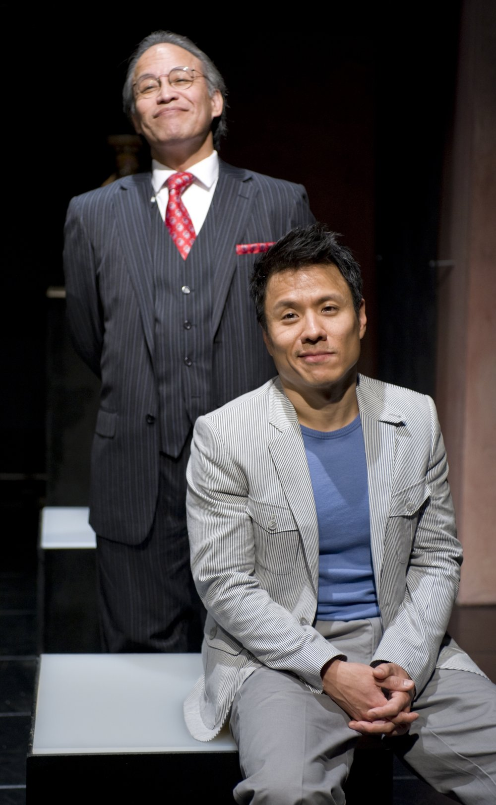 Joseph Anthony Foronda and David Rhee. Photo by Michael Brosilow.