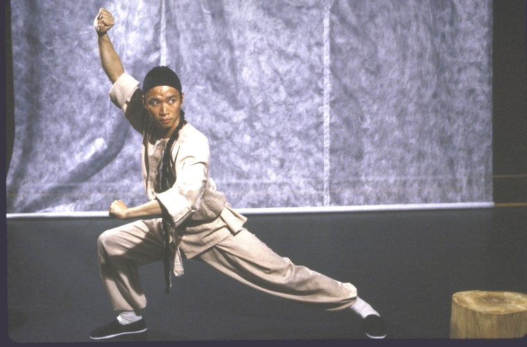 Actor Tzi Ma. Photo by Martha Swope  for the Public Theatre, Courtesy NYPL