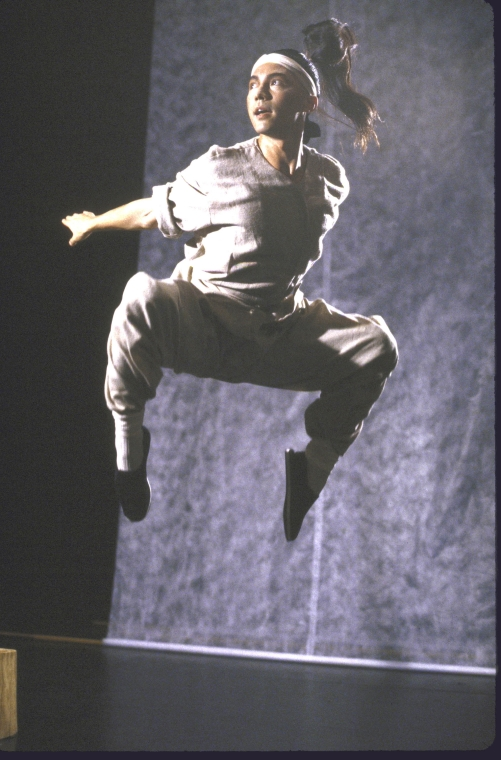 Actor John Lone. Photo by Martha Swope for the Public Theatre, Courtesy NYPL