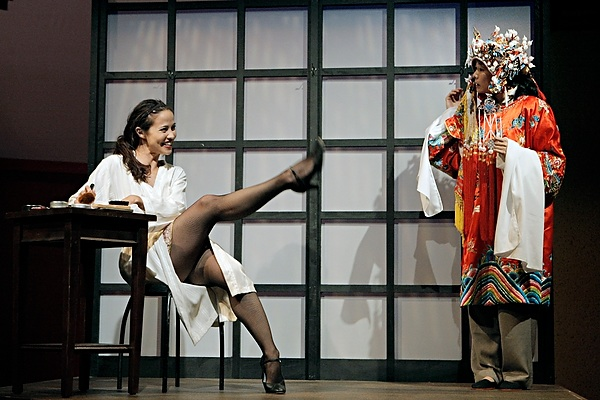 A scene from Mu Performing Arts' 2008 production of  Flower Drum Song . Photo by Michal Daniel.