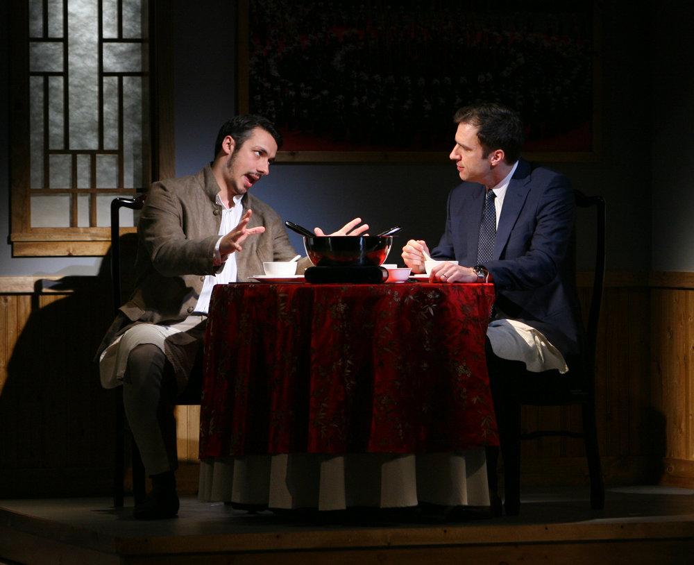 Stephen Pucci和James Waterson. Eric Y. Exit摄于古德曼剧院,2011