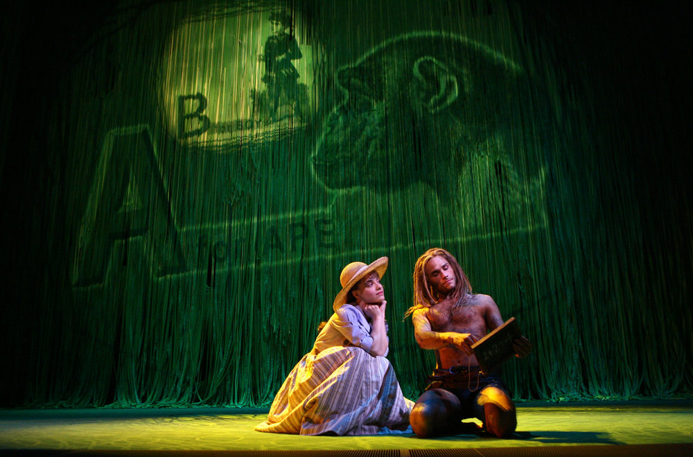 Jenn Gambatese and Josh Strickland TARZAN®_ photo by Joan Marcus. ©DISNEY 2006