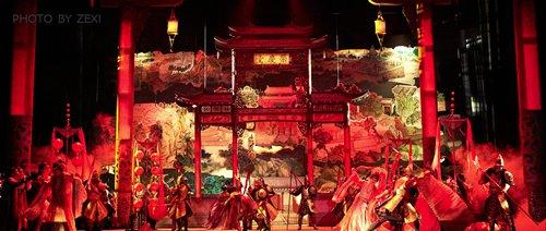 英文歌剧《红楼梦》场景剧照,摄影:阿姆斯特朗音乐艺术-ZEXI