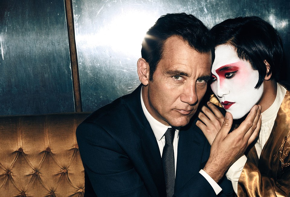 M. Butterfly  co-stars Clive Owen and Jin Ha, photographed in London.Photograph by Julian Broad.