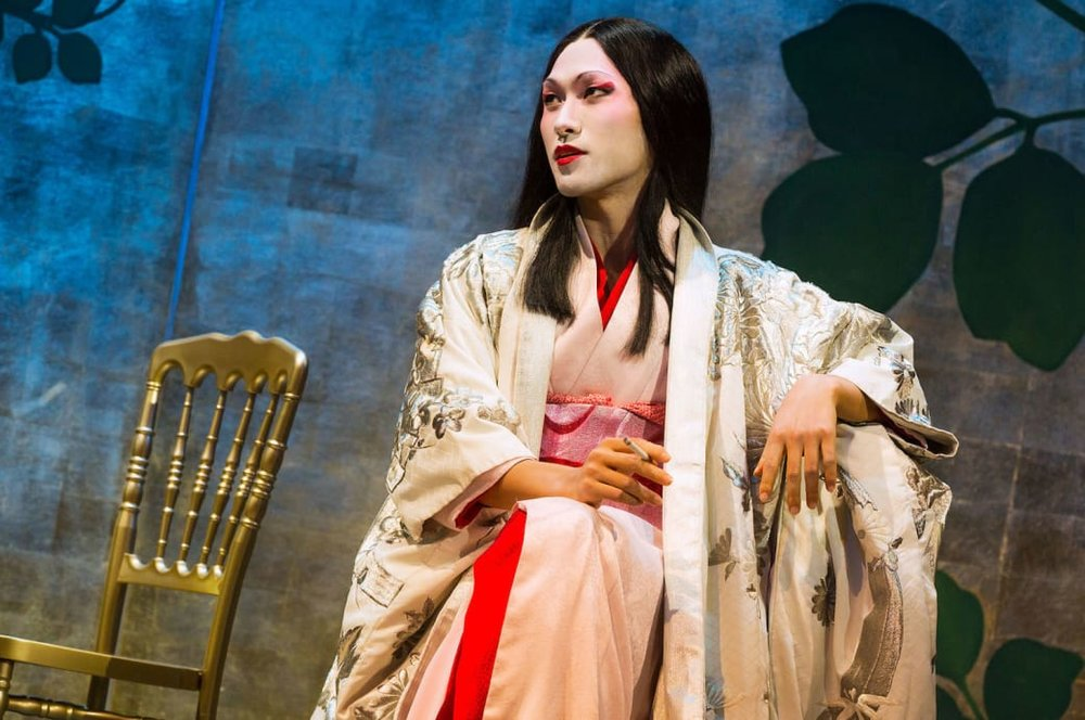 Jin Ha as Song Liling. Photo by Matthew Murphy.
