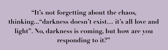 Quote from Writer Brett Randell