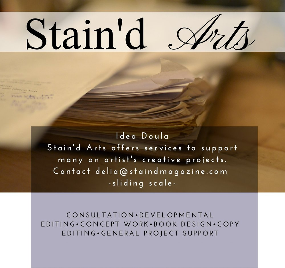 Creative Consulting for artists projects support copy editing developmental editing