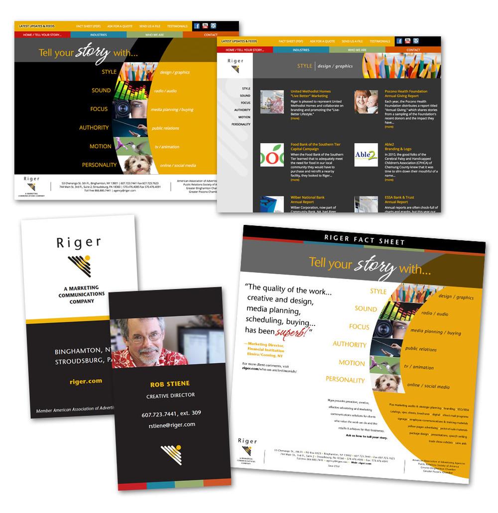 ambersands Rob Stiene branding web site design amber Sands Creative Ormond Beach FL