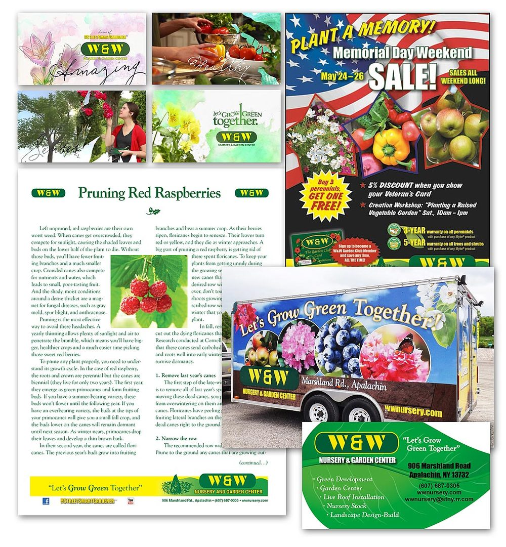 ambersands Rob Stiene nursery garden marketing amber Sands Creative Ormond Beach FL
