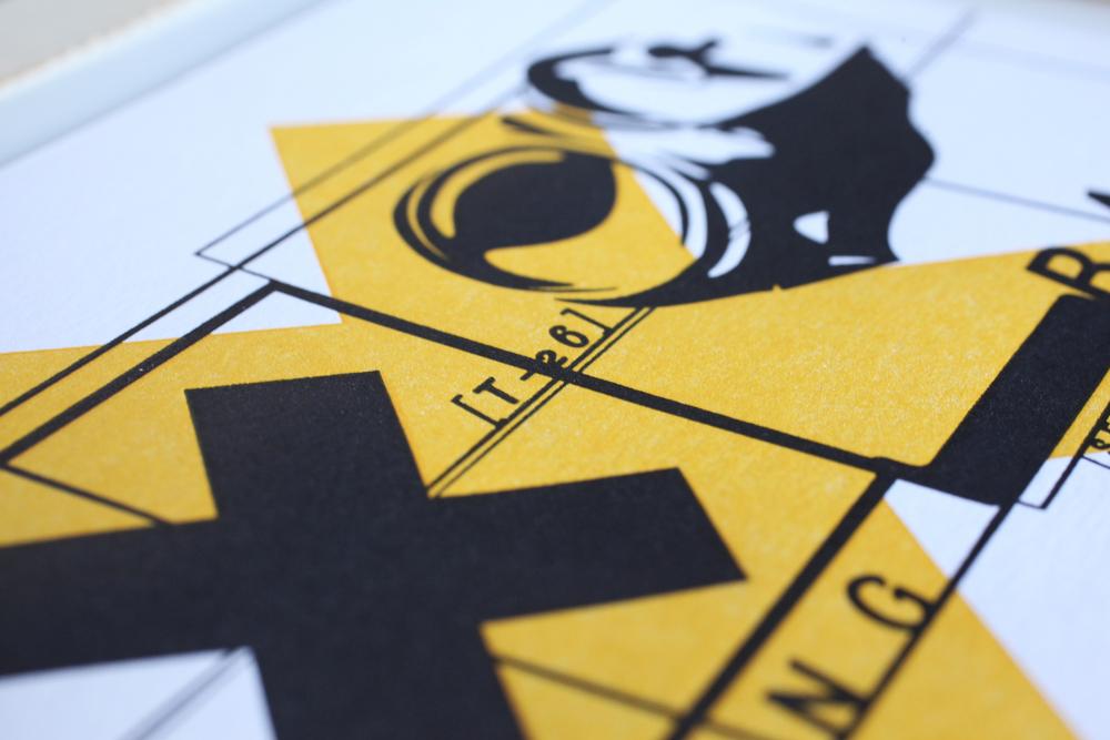 T26 Type Foundry boxset, Dingbat postcard detail.
