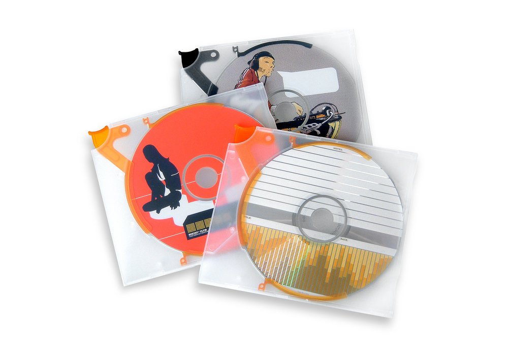 "The 5inch ""Music Bundle""  -  ""Bikini Club"", ""DJ"" and ""EQ""."