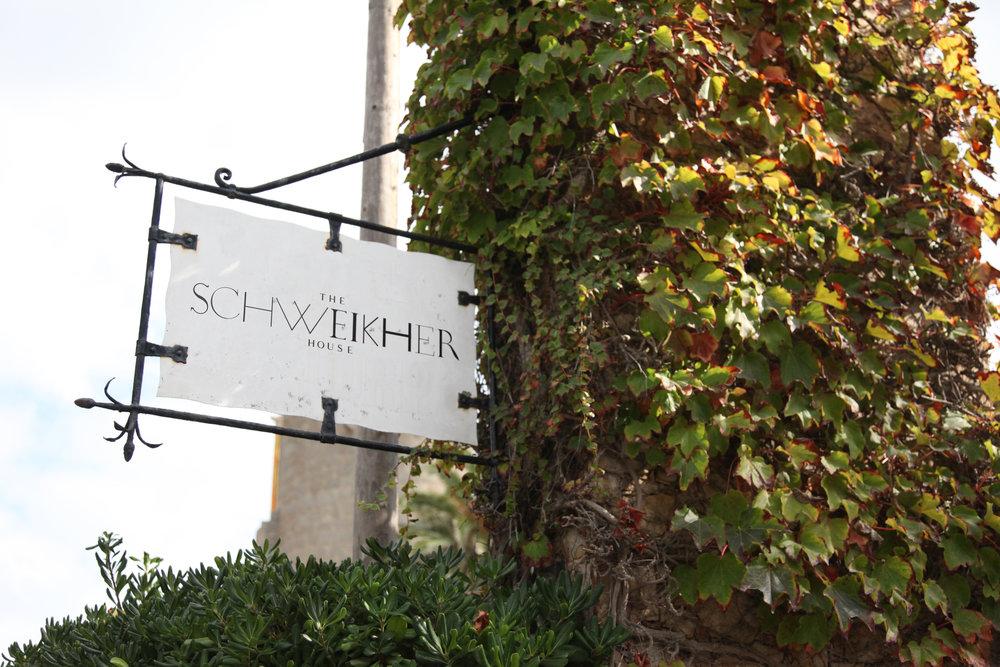 SCHWEIKHER - EXPLORATION #2 - sign