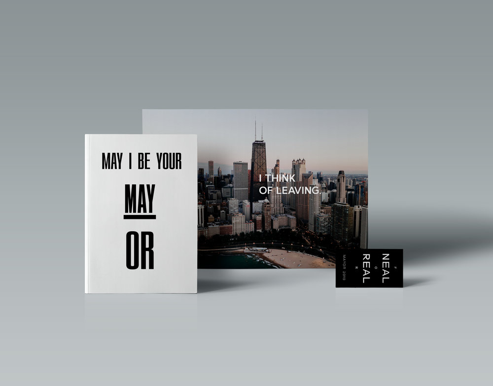 "Campaign ""May I Be Your Mayor"""