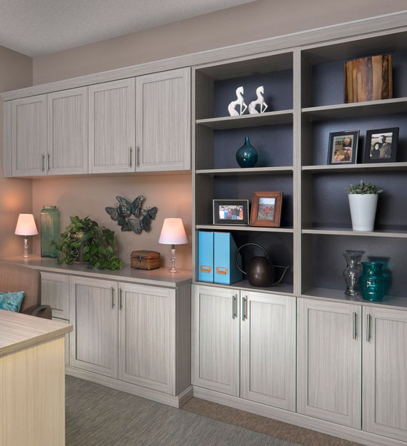 Our Custom Home Office Solutions Donu0027t Stop At Cabinets U2013 We Also Make It  Easy To Personalize Your Home Office With Accessories And A Wide Color  Selection.