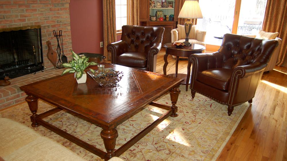 Family Room by McGrath Interiors