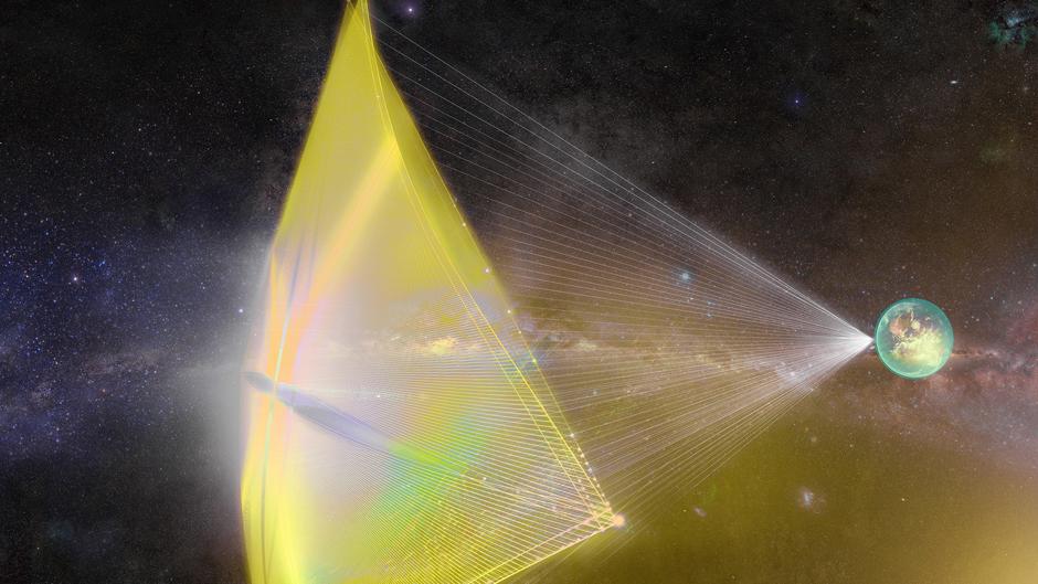 ALPHA CUBESAT - SOLAR SAIL SPACECRAFT