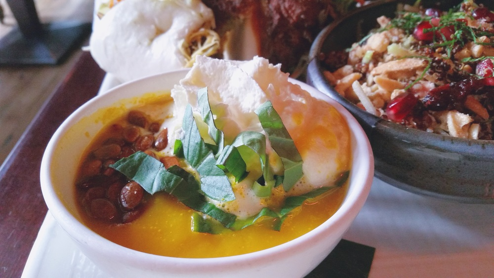 Butternut Squash Soup - Vegetarian menu selection