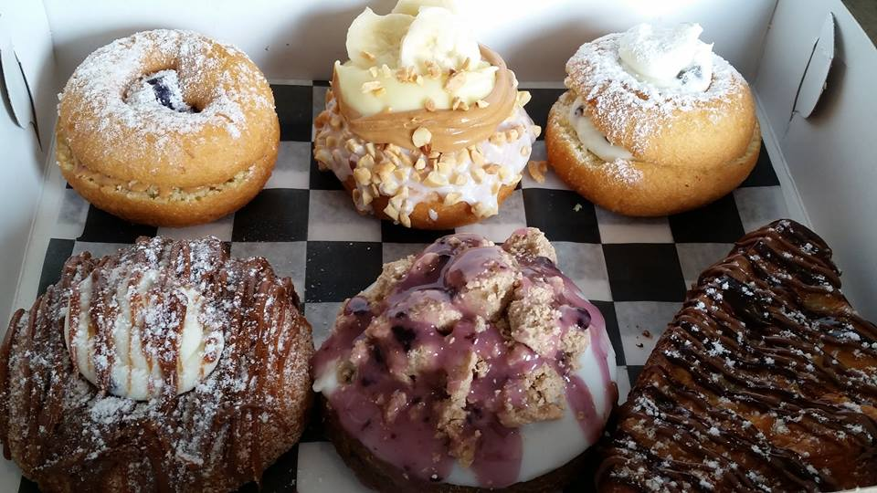 Assorted doughnuts at Broad Street Dough Co. in Oakhurst, NJ