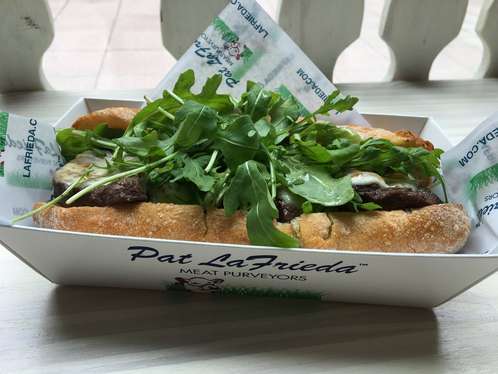 Black Angus Steak Sandwich from Pat La Freida: Photo by Megan Peterson