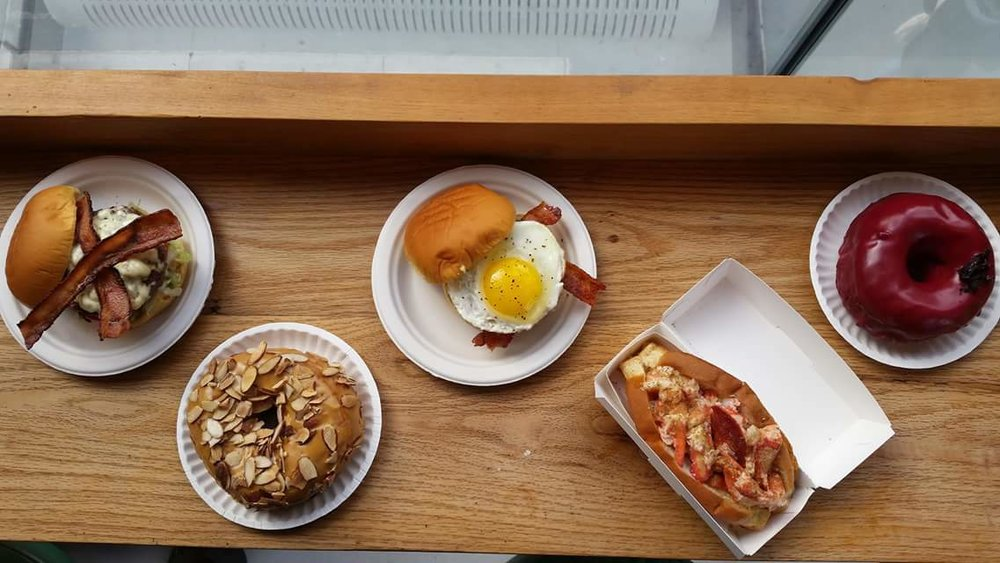 City Kitchen's offerings; Photo by Megan Peterson.