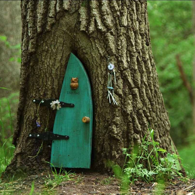 Little Owl Door & Post \u2014 Firefly Forest
