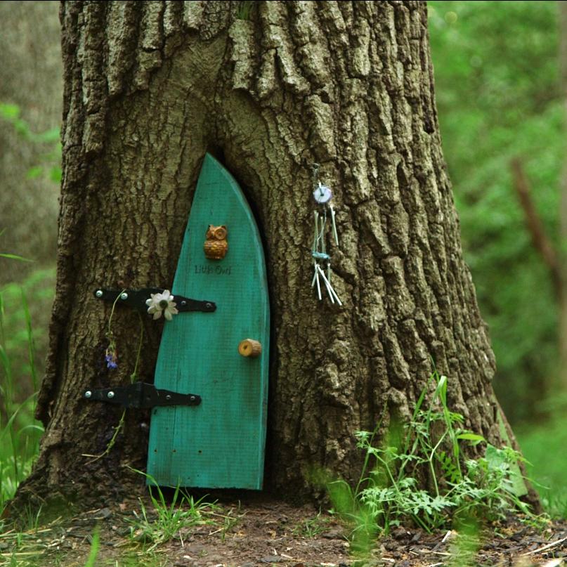Little Owl Door & Post u2014 Firefly Forest