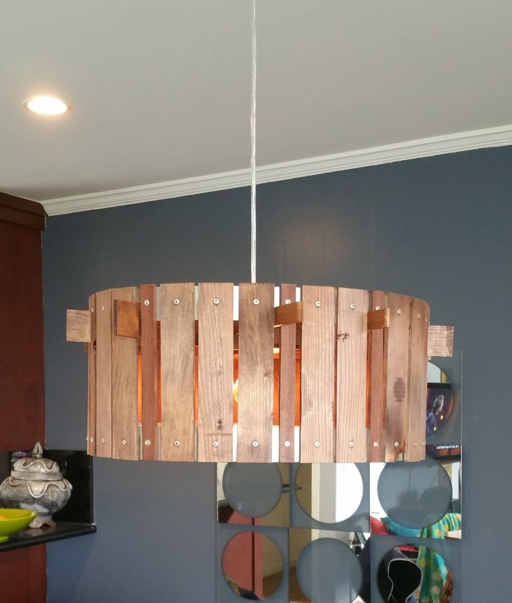 Custom Dining Table Light