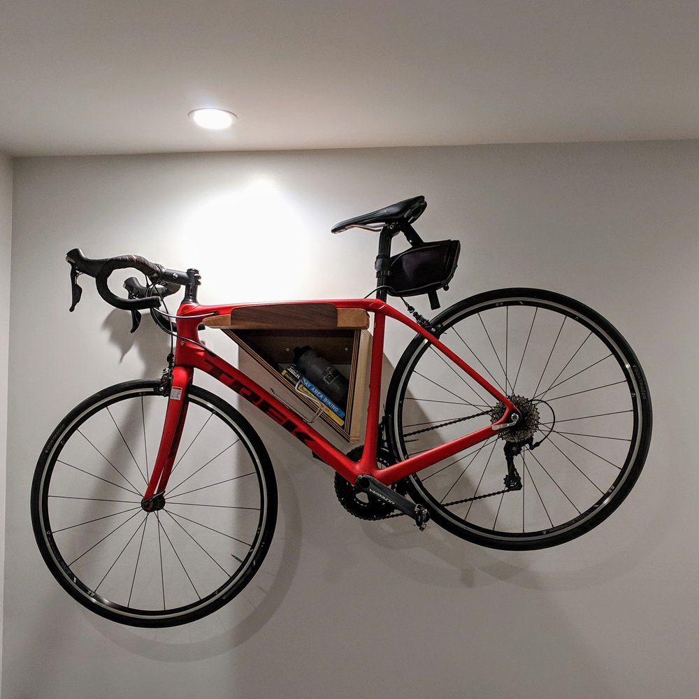 Creative Bicycle Storage -