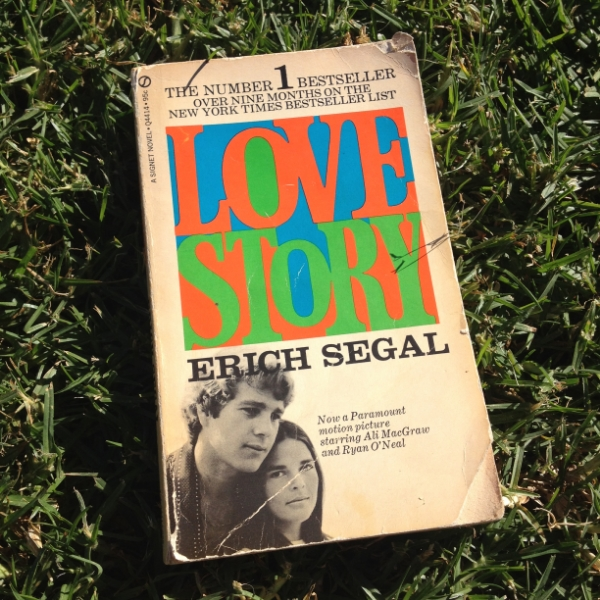 My well-worn copy of Love Story, published in 1970.